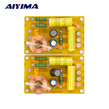 Aiyima 2pcs New Multi Speaker 2 Unit Audio Frequency Divider 2 Way Crossover Filters 250W