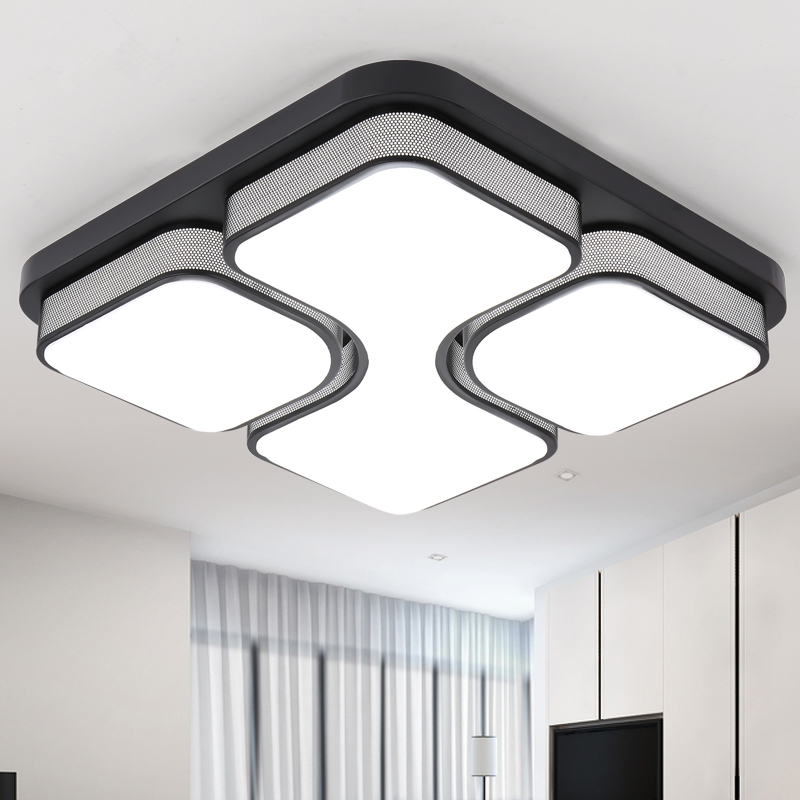 Modern Remote Control Ceiling Light Ac 90 260v Acryl Shade Plafond Lamp Deckenleuchten Res De Teto Luminaire Lamparas Techo In Lights From