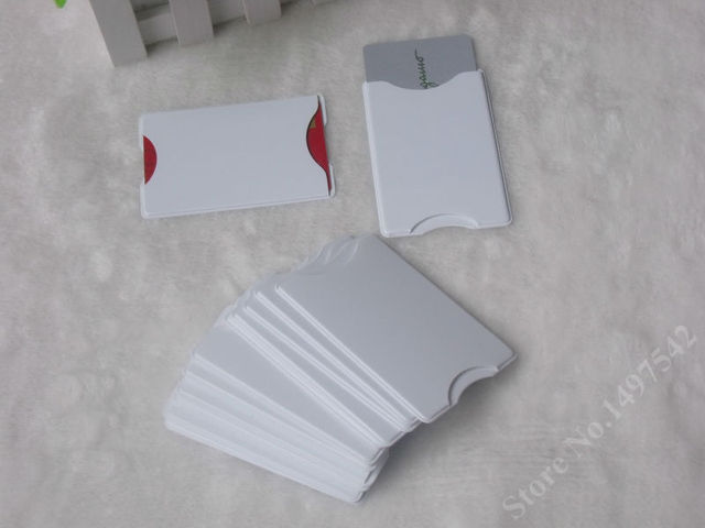 free shipping 10pcs transparent pvc hard plastic card holder card protectorwaterproof storage to - Plastic Card Holder