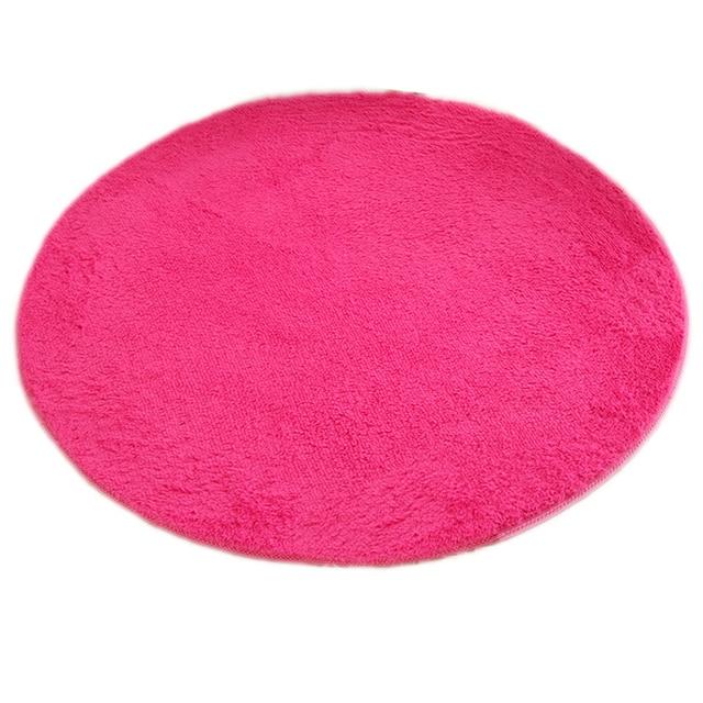 SDFC Home Yoga Mat 80*80cm Quality Floor Mats Modern Shaggy Round ...