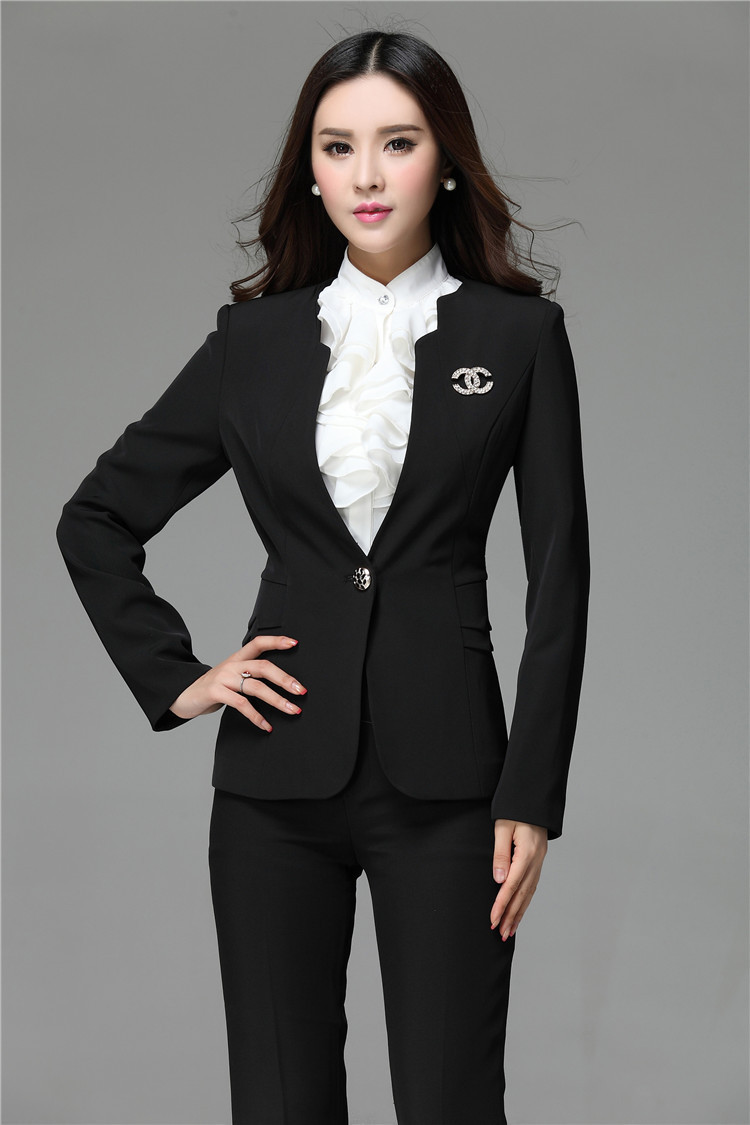 hot sale 2015 formal blazer and pant set women business