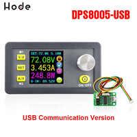 DPS8005 液晶デジタルプログラマブル定電圧電流ステップダウン電源モジュール降圧コンバータ DC 80 ボルト 5A + USB