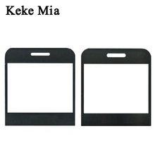 Keke Mia New Black Front Glass Screen For Philips Xenium E171L lens Panel (NOT Touch Digitizer Sensor ) + Track