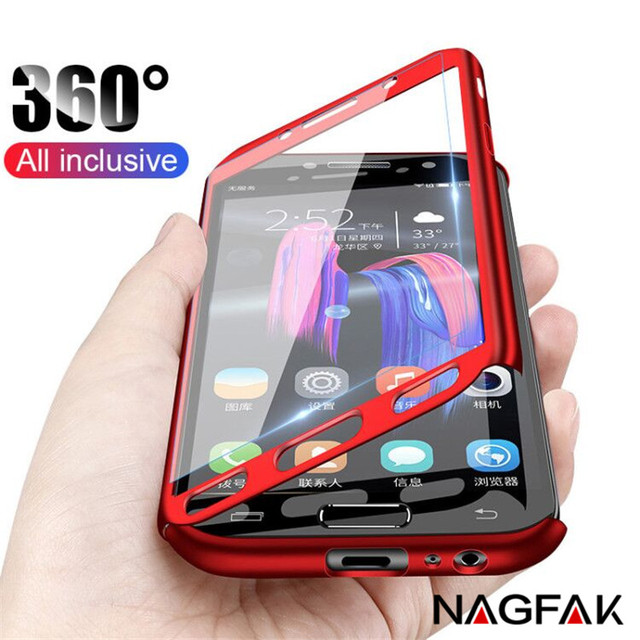 360 Full Protection Phone Case For Samsung Galaxy J5 J7 2017 Case Shockproof Cover For Samsung A7 A6 A8 J4 J6 J8 Plus 2018 Case