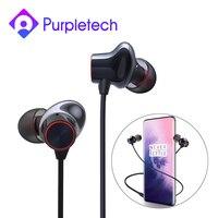 Oneplus balas sem fio 2 bluetooth fone de ouvido no ouvido aptx híbrido controle magnético google assistente carga rápida para oneplus 7 pro|Fones de ouvido| |  -