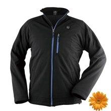 2017 NEUE Pro-Smart Marke Hochwertige Outdoor Sport Jacken Mann 3 Heizstufen Winter Thermische Jacke Herren 12 V Batterie Mantel