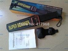 MD-3003B1 Porable Handheld Metal Detector Professional Super Scanner Tool metal Finder Security Checker knife detector