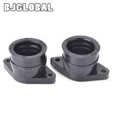 Voor Yamaha TT350 XT350 Carb Intake Carburateur Joint Boot Interface Adapter Connector Spruitstuk 42U 13596 01 00 55V 13586 01 00