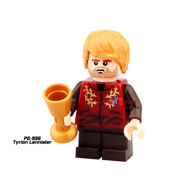 50pcs superhero Game of Thrones Tyrion Lannister building blocks bricks friends for kid children toys brinquedos menina