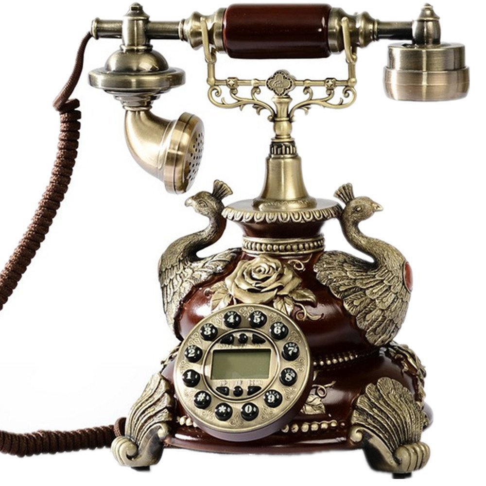 Novelty Fashion Home Decor Corded Antique Telephone