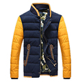 2017 Горячая Продажа мужская Пуховик отдых большой размер толстый зимний марка пуховик молодые мужские куртки пальто 70cy