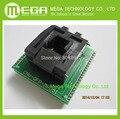 Бесплатная доставка ПРОГРАММИРОВАНИЯ МИКРОСХЕМ SOCKET TQFP44 QFP44/PQFP44 К DIP40 адаптер разъем поддержка MPU-51 чип