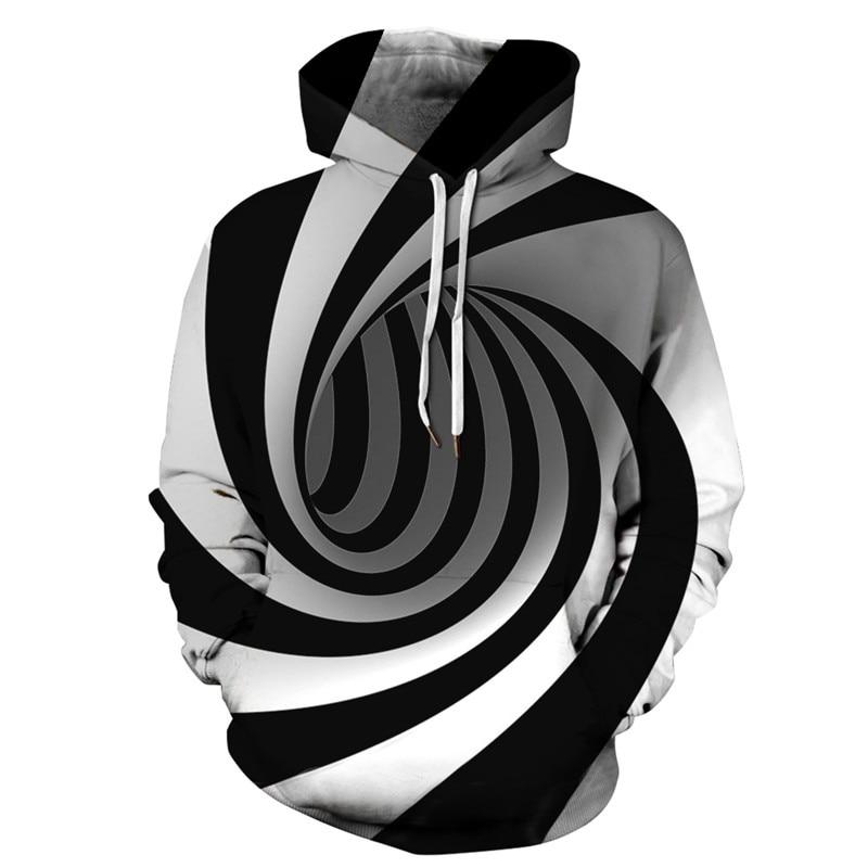 Swirl 3D Hoodies Women Men Sweatshirt Hooded Hoody Jumper Coats Tracksuits Unisex Pullovers Casual Sweatshirts Hoodie XXXL thumbnail