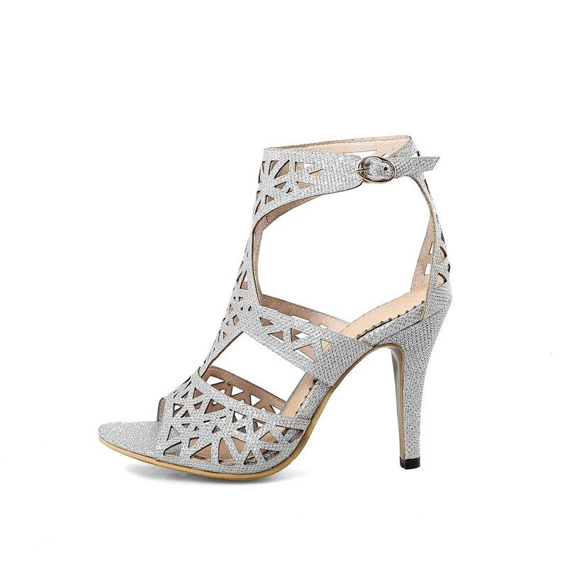 Gladiatore Ribetrini Da Alta argento 43 Sandali Scarpe Tacchi 33 Oro Sexy Alti Il Donna Di Qualità Formato Patry colore Rosa Più Estate aT5nwx1Tqr