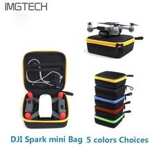 Faísca Mini Drone DJI Saco Portátil de Armazenamento Saco de Viagem Maleta para DJI Zangão Câmera Faísca acessórios