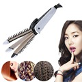 Hair Curler 3 IN 1 Hair Curling Iron Set With Ceramic Flat Iron and Corrugated Corn Curls Comb Hair Straightener Styling Tools