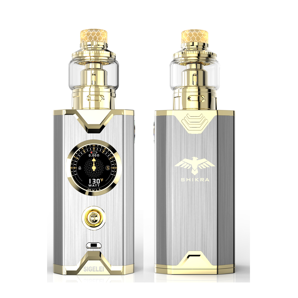Shikra Kit NEWEST E Electronic cigarrete Vape kit Sigelei super power 10 - 200w New system design Better experience feelings