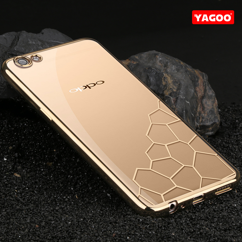 OPPO R9S Case Cover transparent silicon OPPO R9S Case Soft TPU Coque Yagoo Original Clear Ultra-thin caso fundas shell housing