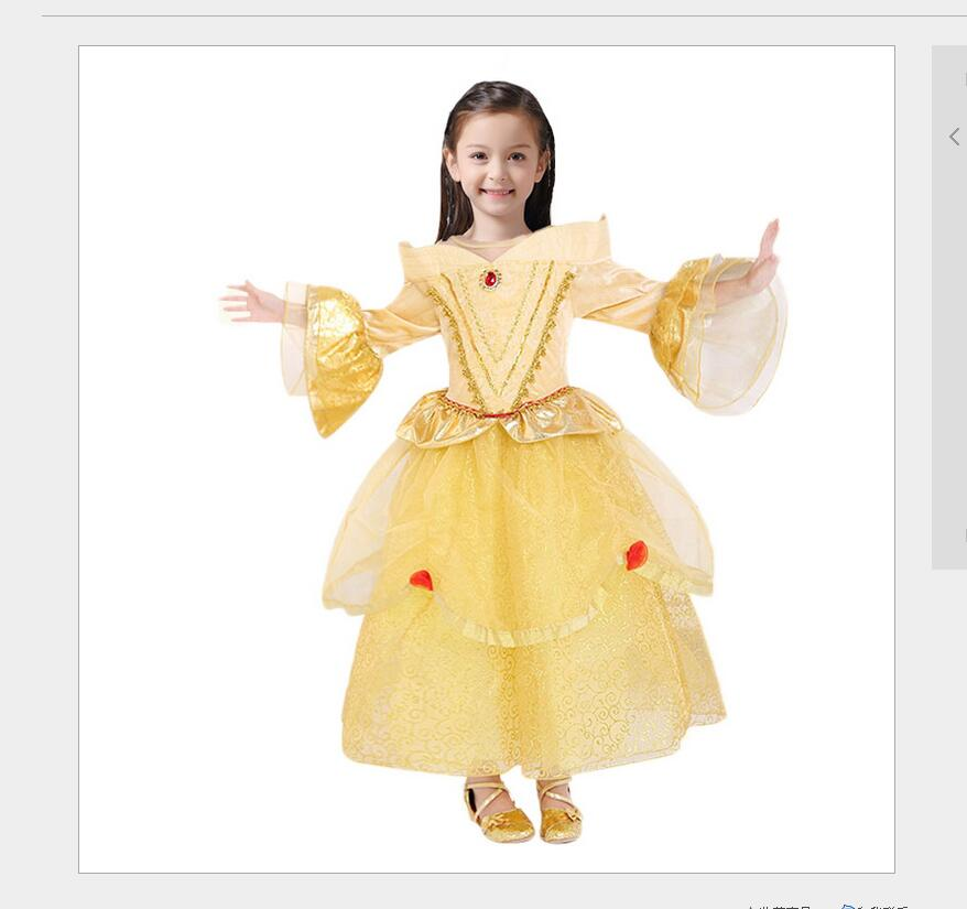 Kids Cosplay Costume Dress Cinderella Elsa Baby Girls: Baby Girl Dress Cinderella Elsa Anna Girls Clothes