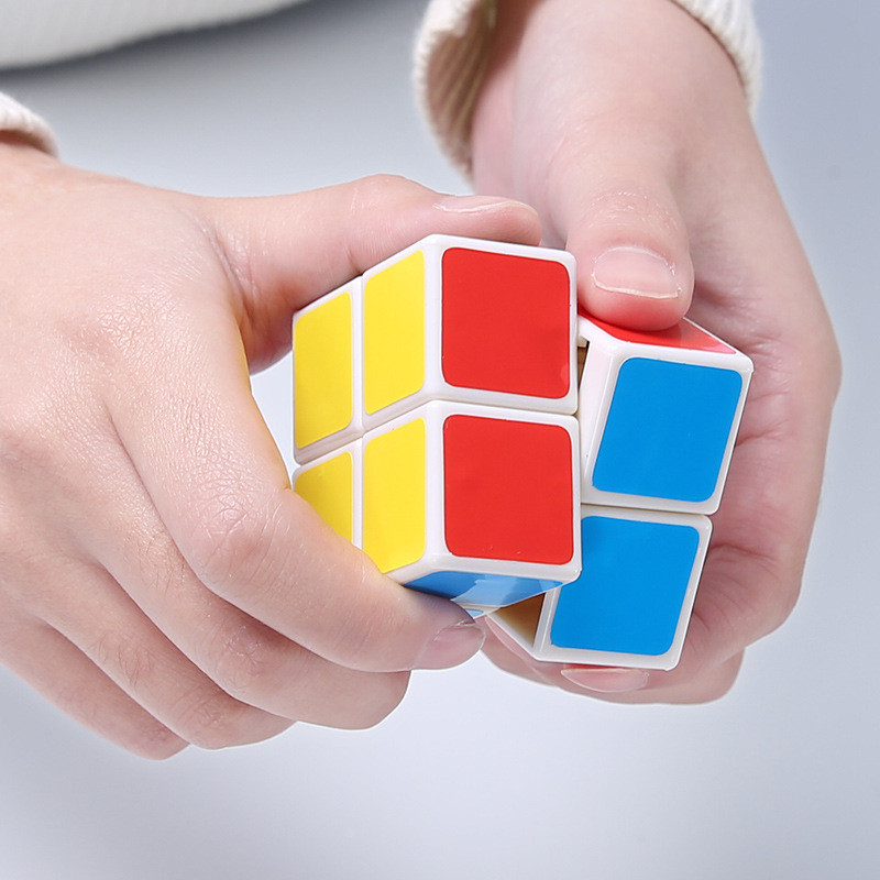 2x2x2 Magic Cube Puzzle Speed Basic Cubes Magico Kids Rubiks Cube Children Educational Toys Own Factory Quality Assurance MF208