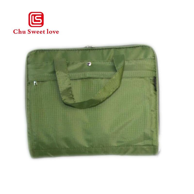Briefcase men and women multifunctional leisure laptop bag fashion business cross section handbag