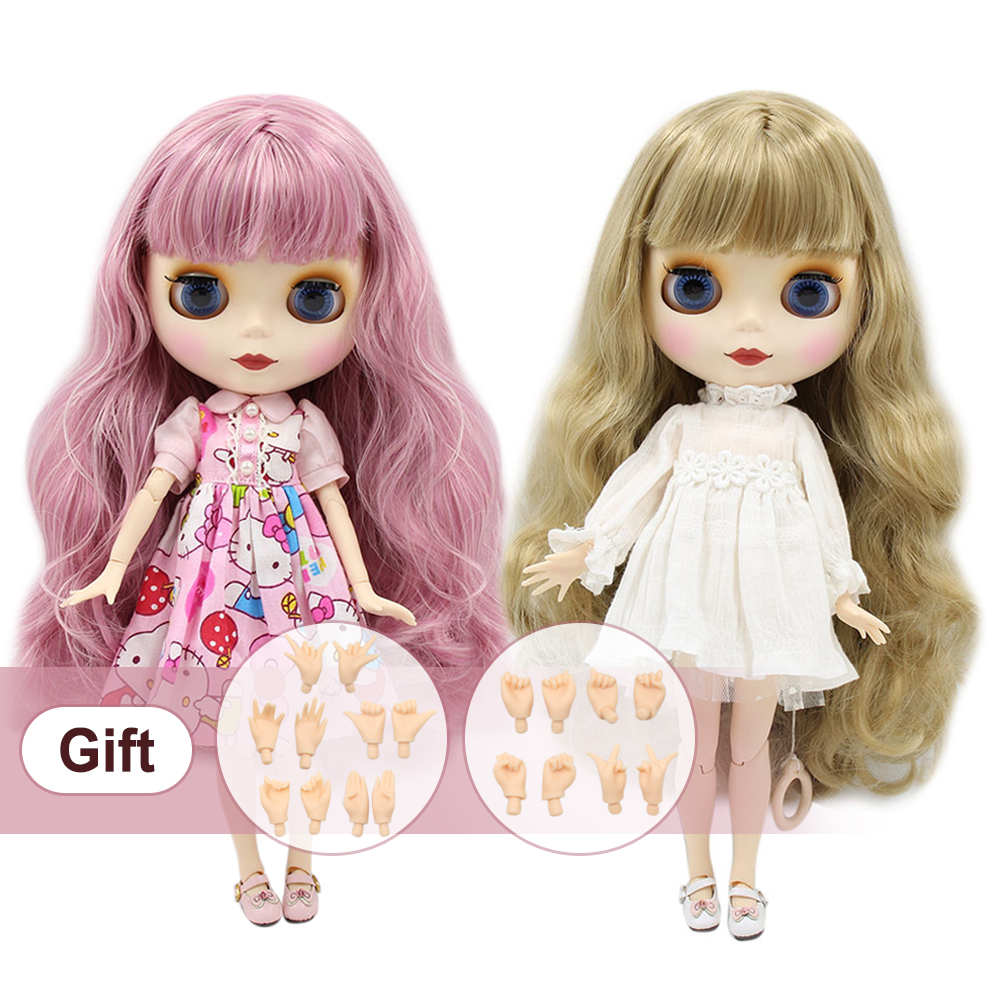 Blyth Doll Nude Normal And Joint Body Different Type Fashion Cute BJD Dolls Suitable Diy Makeup With Hand Set A&B