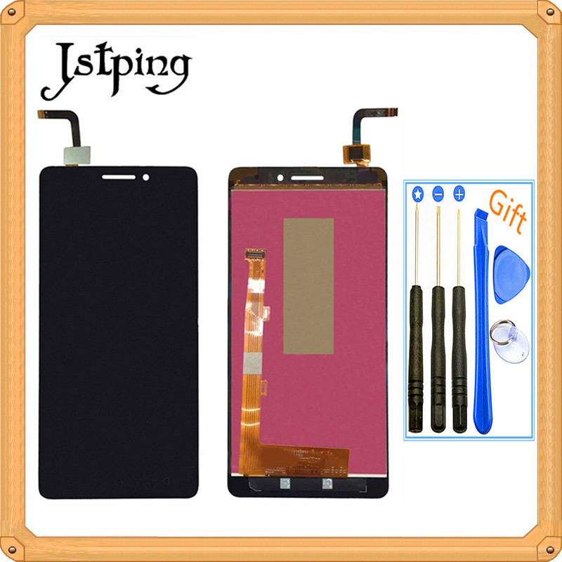 Jstping 5 inch Full LCD screen for Lenovo Vibe P1M <font><b>P1ma40</b></font> P1mc50 display panel Assembly frame with touch screen sensor digitizer image