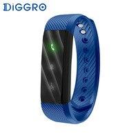 Diggro ID115 Lite Smart brecelet браслет Фитнес трекер сна светодиодный индикатор Bluetooth Спорт умный Браслет для андроид iOS