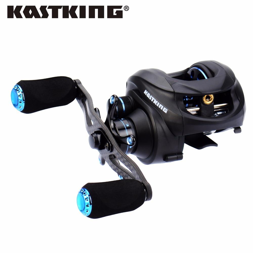 ФОТО KastKing Assassin 12BBs Dual Brake Baitcasting Reel Max Drag 7.5KG Right Left Hand Bait Casting Lure Fishing Reel