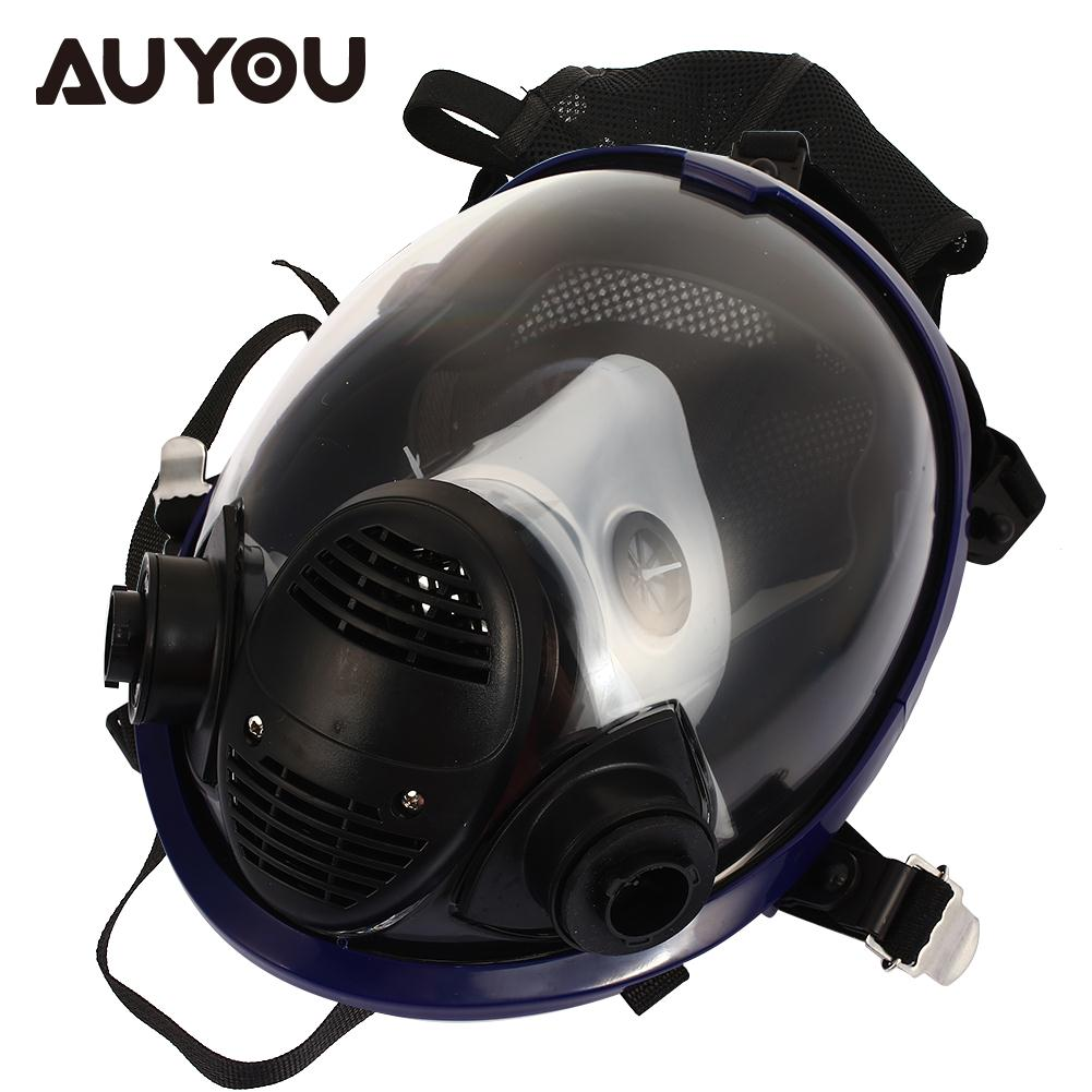 Dustproof Spraying Gas Mask Universal Facepiece Respirator Breathing Respirators Painting Full Face Painting Gas Mask painting spraying dust mask russian soviet military vintage gas mask full face facepiece respirator 40mm