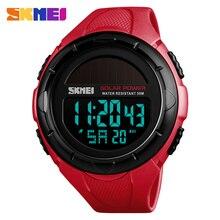 SKMEI Sport Watch Man Clock Men Digital Wrist Watches Outdoor Solar Power Waterproof Luxury Men's Watch 1405 Relogio Masculino цена и фото