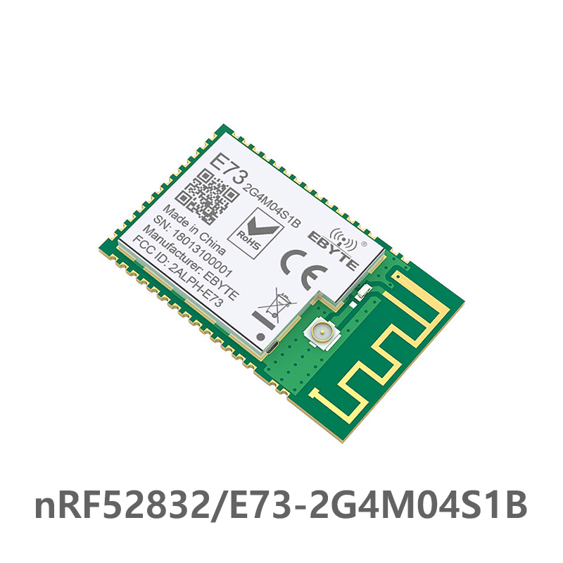 Bluetooth 5 0 nRF52832 ebyte 2 4Ghz E73 2G4M04S1B IPEX PCB Antenna IoT uhf Wireless Transceiver Ble 5 0 rf Transmitter Receiver in Fixed Wireless Terminals from Cellphones Telecommunications