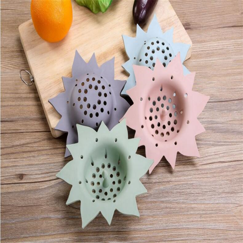 Permalink to Household Strainers Sunflower Shape Drains Strainers Bathroom Shower Sewer Filter Cleaning Tool Kitchen Sink Accessories