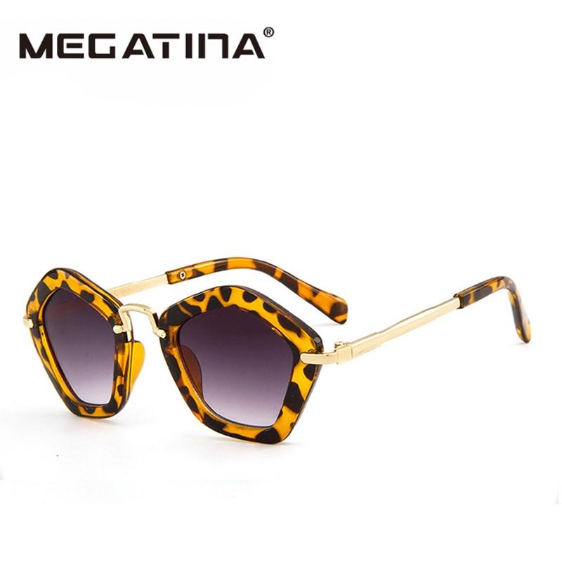 Megatina 2018 Brand Trendy Kids Napszemüvegek Poligon Gyermekek - Ruházati kiegészítők