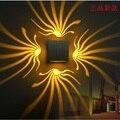 Montagem Em superfície luminária De Alumínio conduziu a luz para Cima e para baixo lâmpada de parede levou 3 W AC85-265V iluminação interior luz parede borboleta IY121670