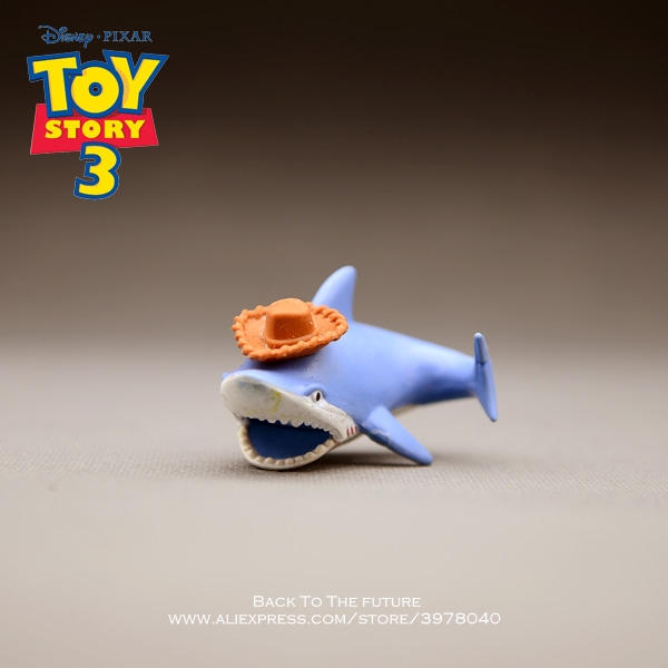 Disney Toy Story 3 Mr. Shark Q Version 5cm Action Figure Posture Anime Decoration Collection Figurine Toy model for childrenDisney Toy Story 3 Mr. Shark Q Version 5cm Action Figure Posture Anime Decoration Collection Figurine Toy model for children