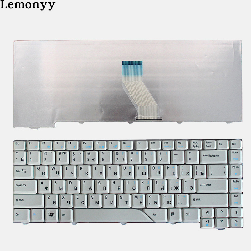 Image 2 - NEW Russian Keyboard for Acer Aspire 5715 5715Z 5720G 5720Z 5720ZG 5910G 5920G 5920ZG 5950G RU laptop keyboard black/white-in Replacement Keyboards from Computer & Office on