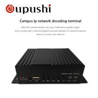 Oupushi IP-9802S IP netwerk openbare adres IP netwerk broadcast terminal Muur gemonteerde broadcast terminal