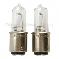 Halogen lamp bulb 24v 50w ba15d A032 10pcs