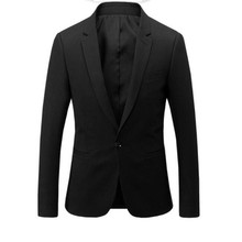 Formal occasions men's suit jacket a grain of buckle high quality wedding occasions the groom suit black PROM dress jacket