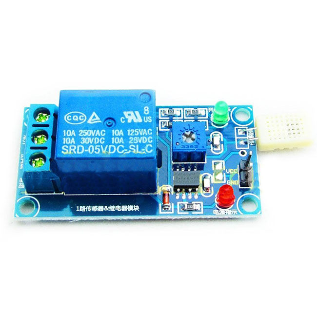 Relay Module Moisture Humidity Sensor Control Switc ...