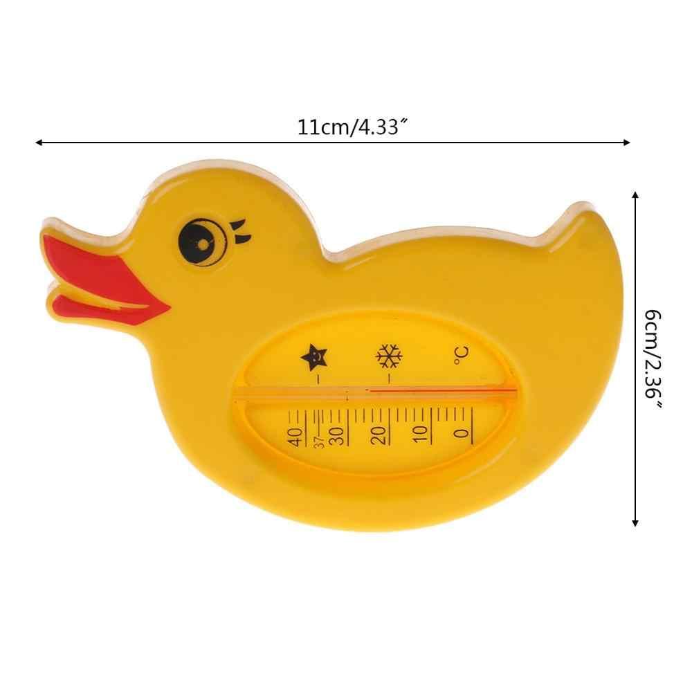 ベビーシャワー温度計水温黄色アヒル漫画かわいいバス浴槽入浴用品子供幼児ルームセンサーおもちゃ