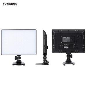Image 3 - YONGNUO YN300 YN 300 powietrza kamera LED lampa wideo 3200 K 5500 K z NP F750 dekodowane bateria + ładowarka do Canona Nikon i kamery