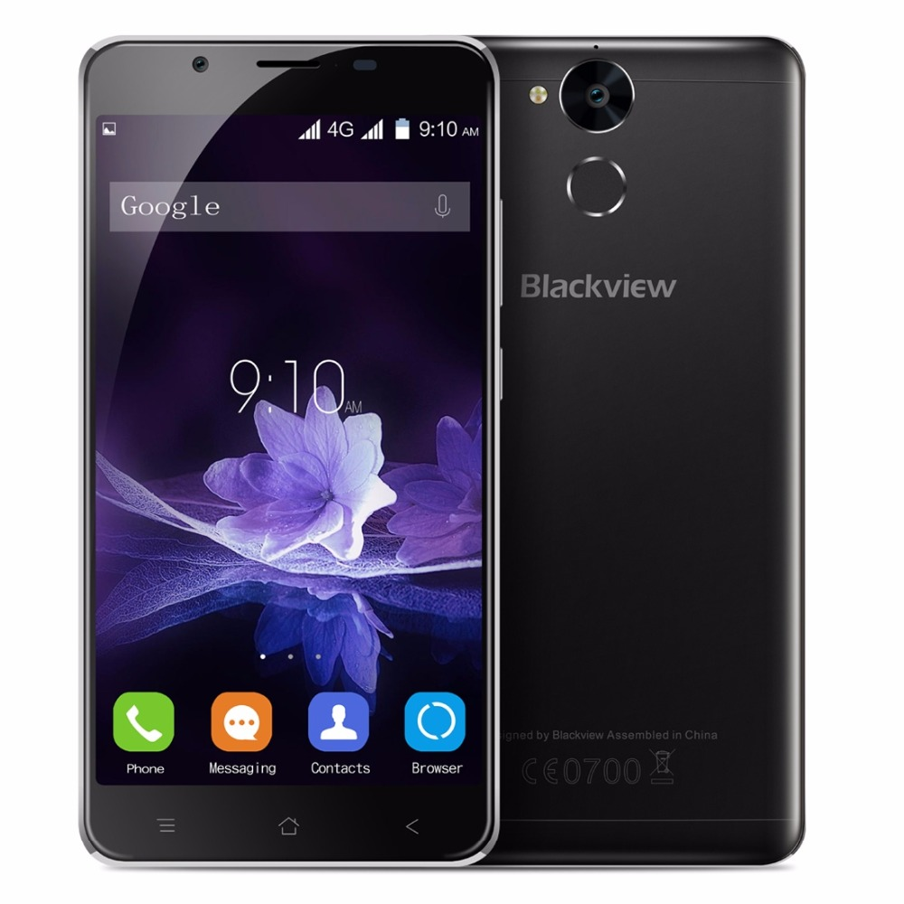 Blackview P2 Smartphone 5.5 inch FHD Screen 4GB RAM 64GB ROM Android 6.0 MTK6750T 8 Core 1.5GHz Dual SIM 13MP Unlock 4G OTG FM