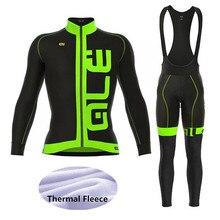 ФОТО 2018 men's sets cycling clothing winter thermal fleece long sleeve  cycling jersey / cheap cycling jerseys