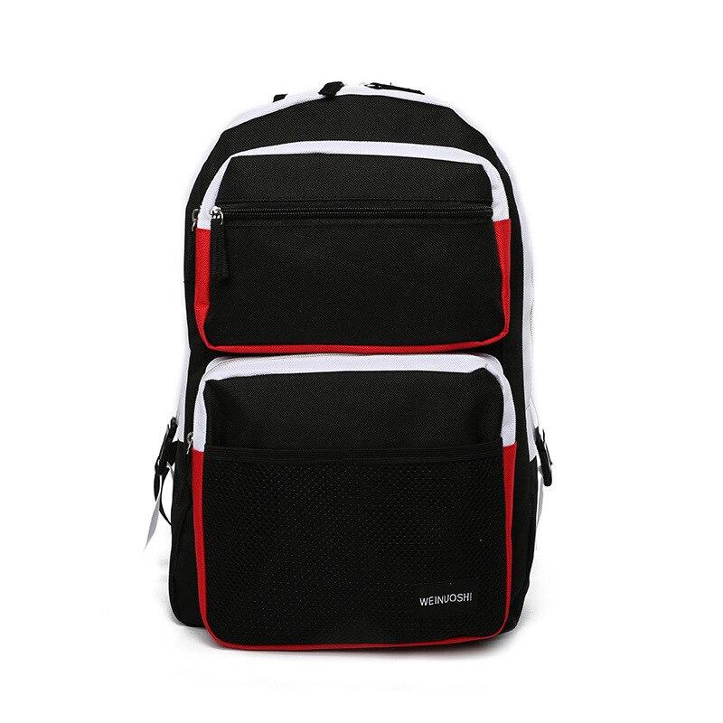 Men Backpack Laptop-Bag Student Bag Designer High-Capacity Women And Oxford Male