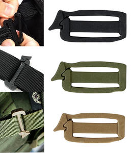Clip Backpack-Strap Webbing Connect Attach Military Tactical Outdoor Web-Buckle Molle