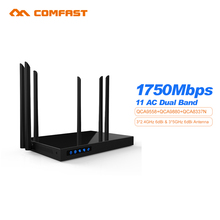 Comfast CF-WR650AC 1750 Mt OpenWRT AC WiFi Router Dual Band 5,8 + 2,4G WIFI Repeater 802.11AC 6 PA + 6 WIFI Antenne roteador Wi-Fi