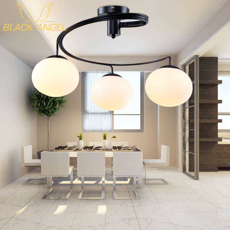 Living room LED Ceiling Light for home decoration new house party lamp lighting lustres de sala baby room ceiling fixture 40cm acrylic round hanging modern led pendant light lamp for dining living room lighting lustres de sala teto