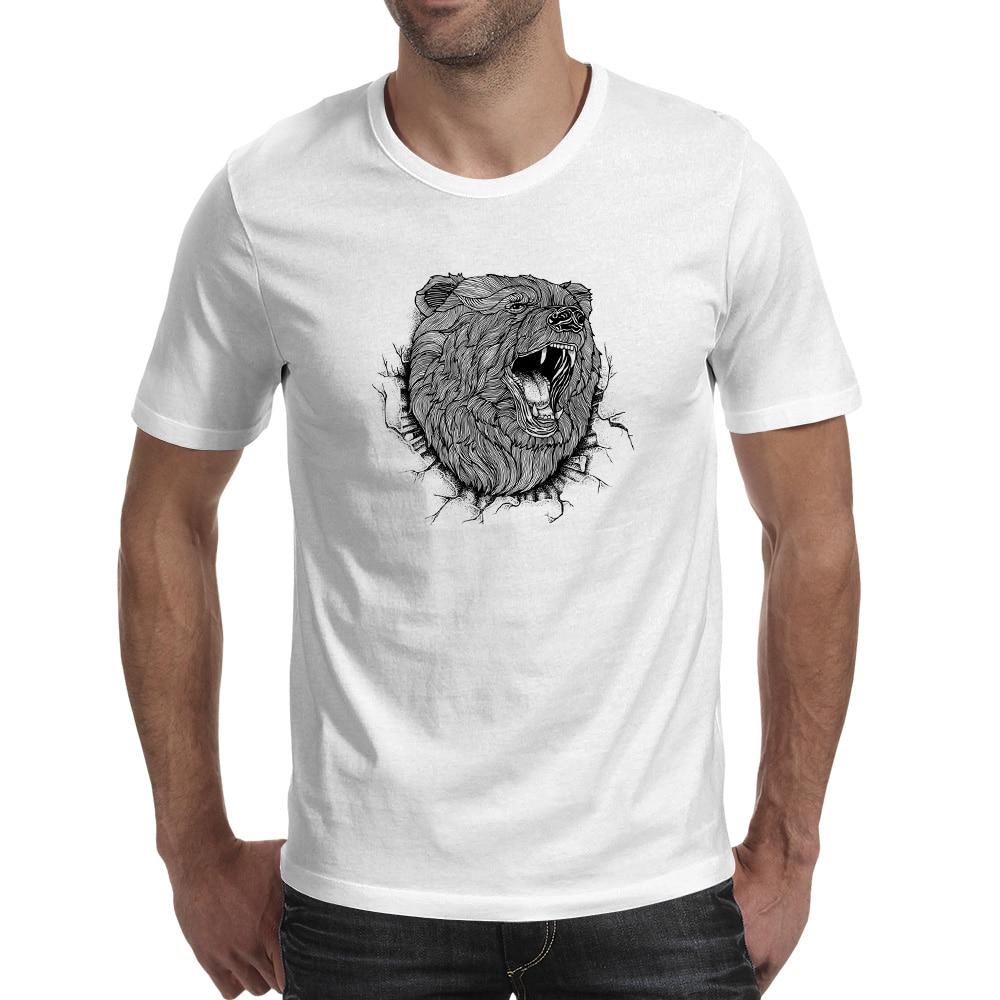 Bear Break Out T Πουκάμισο 3D Anime Hip Hop στυλ T-shirt - Ανδρικός ρουχισμός